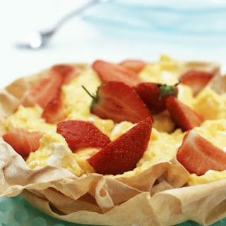 Phyllo Pie with Citrus Filling.
