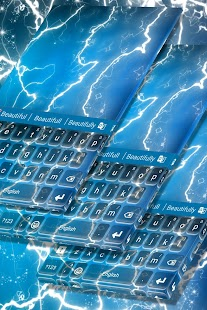 Elektrické Neon klávesnice - náhled