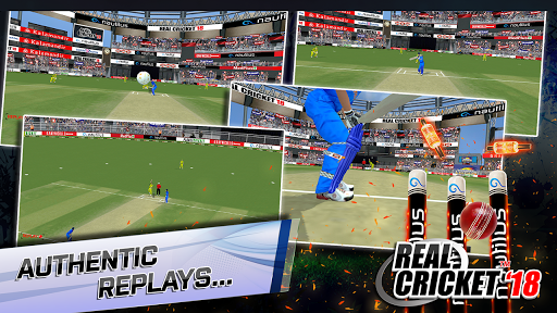 Real Cricket™ 18 poster