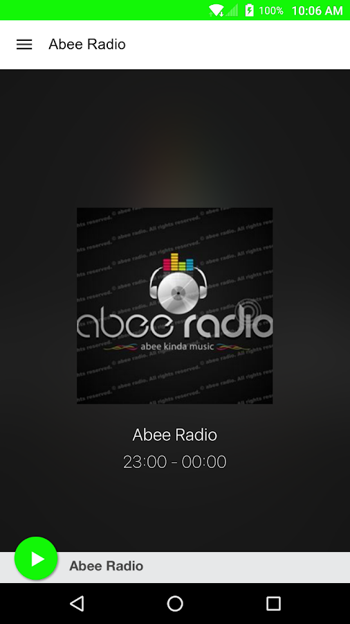 Abee Radio- screenshot
