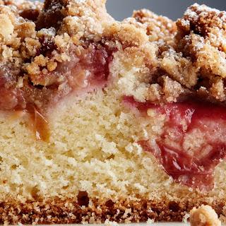 Plum Streusel Coffeecake