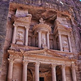 Petra by Mirko Ilić - City,  Street & Park  Historic Districts ( monastery, grandiose, historic district, rocks,  )