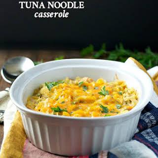 Aunt Bee's Famous Tuna Noodle Casserole.