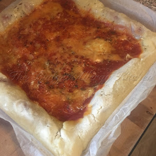 Gluten, dairy, soya and egg free Pizza!.