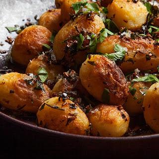 Spanish-Style Potatoes.