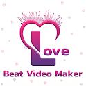 Love Beat Video Maker icon