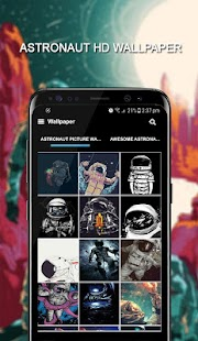 Astronaut In Space Wallpaper Custom Maker Poster - náhled