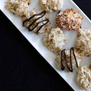 Quick and Healthier Coconut Macaroons