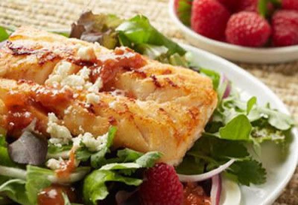 Alaska Cod Mex Ala Salad Recipe
