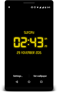 LED Digital Clock LiveWP- screenshot thumbnail
