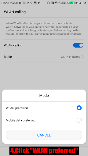 Wifi Calling 1.0.4 screenshots 4