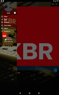 KBR Radio- screenshot thumbnail