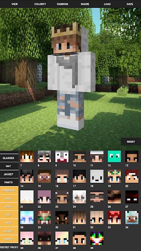 Custom Skin Creator For Minecraft 4.5 screenshots 7