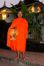Photo: Day 271 - Older Monk Waiting to Join the Procession