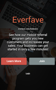 Everfave for Businesses- screenshot thumbnail
