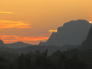 Photo: Day 303 - Sunset Over Vang Vieng #3