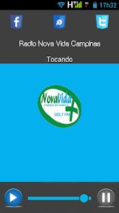 Nova Vida FM Campinas - náhled