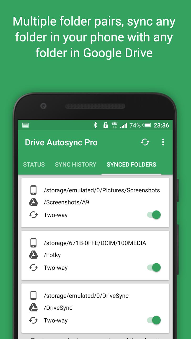 Autosync Google Drive Screenshot 5