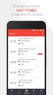 Doctr – Emergency rooms wait times in Canada- screenshot thumbnail