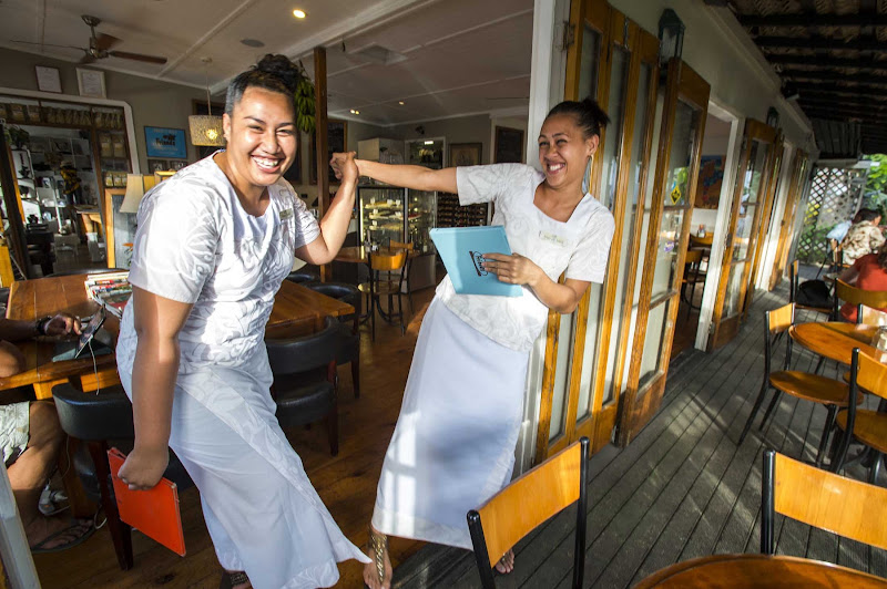 Visit the Friends Cafe on your trip to Nuku'alofa, Tonga.