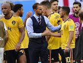 Engels bondscoach Gareth Southgate feliciteert Rode Duivels met derde plaats