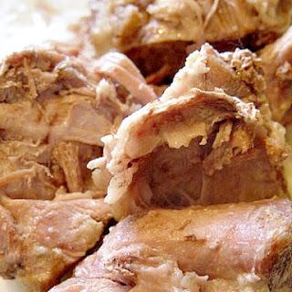 Pressure Cooker Pork Shoulder.