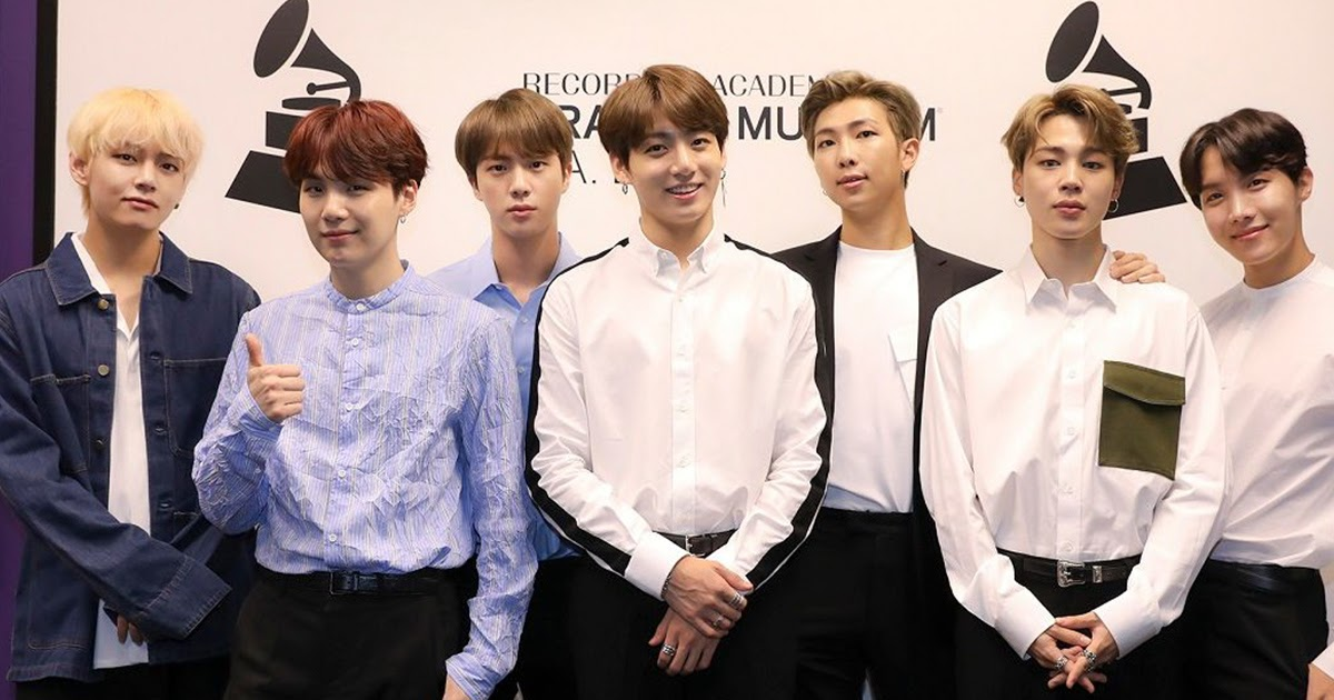 Bts To Present An Award At The 2019 Grammy Awards