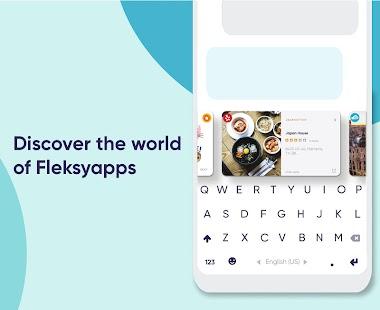 Fleksy: Schnelle Tastatur - Kostenlse Emoji & GIF Screenshot