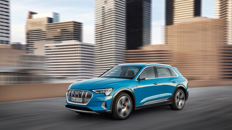 Audi has revealed its new E-tron electric SUV which is heading to SA. Picture: AUDI