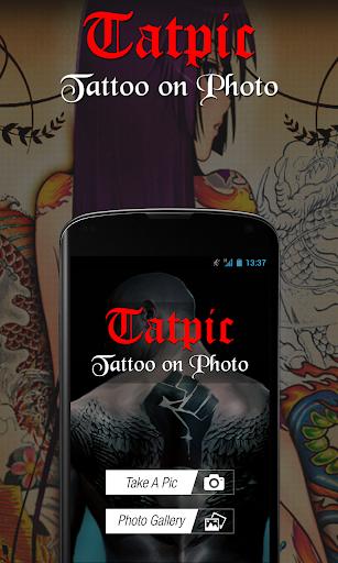 TatPic Tattoo on Photo