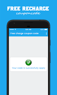 Free Recharge Coupons Code - náhled