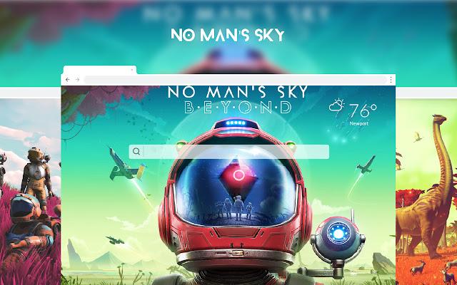 No Man's Sky HD Wallpapers New Tab