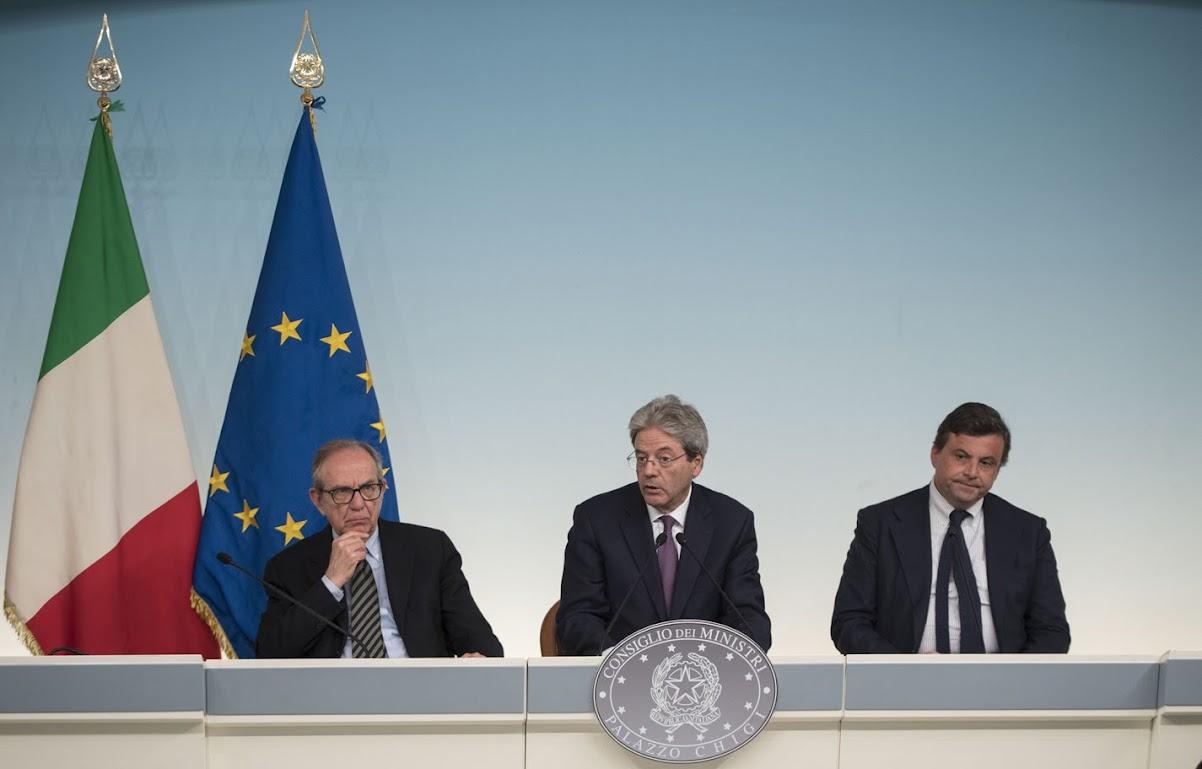 Consiglio dei Ministri - Foto: Tiberio Barchielli