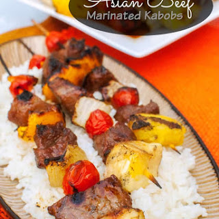 Asian Beef Marinated Kabobs Recipe