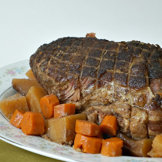 Slow Cooker Traditional Pork Roast