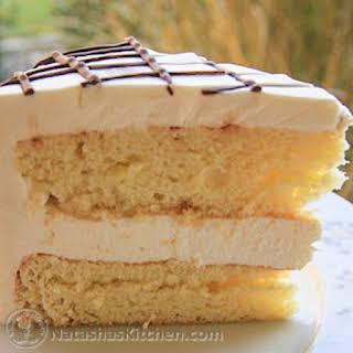 Ptichye Moloko Cake Recipe (Bird's Milk Cake).