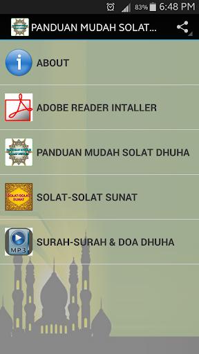 PANDUAN MUDAH SOLAT DHUHA
