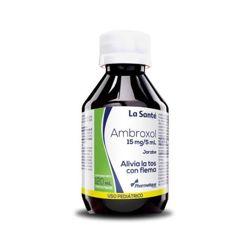 Ambroxol Jarabe 15mg 120ml