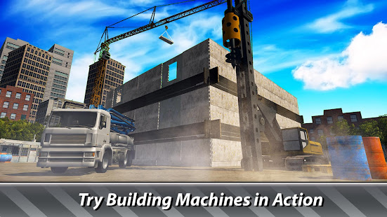 House building simulator try construction trucks apps for Home building simulator