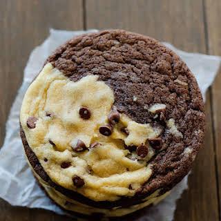 Brookies (Brownie & Chocolate Chip Cookies).