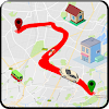 GPS carte direction: la navigation route guider