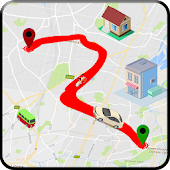 GPS trafic route Plans: direction & la navigation