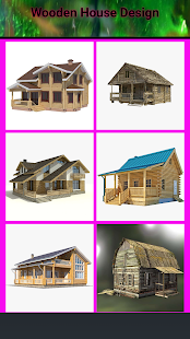 Wooden House Design - náhled