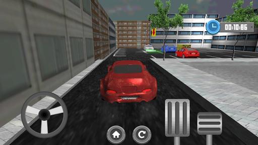 駐車場ドライブ3D