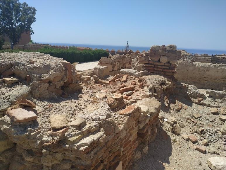 Muros de la zona arqueológica del segundo recinto