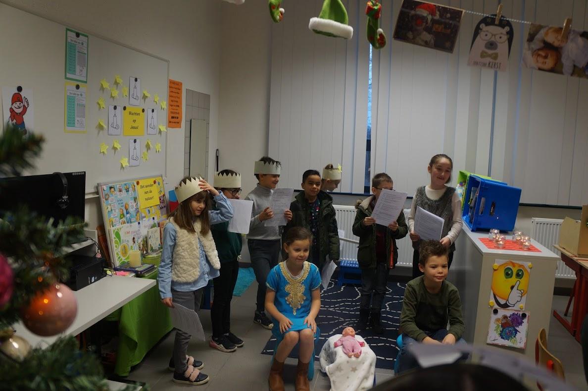 Kerst vieren in de klas