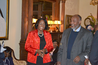 Photo: Carlton and Akua Henderson-Brown, Honorees