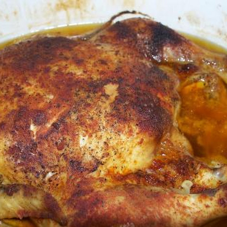 Garlic Roasted Chicken ( in a Crock Pot ) Recipe