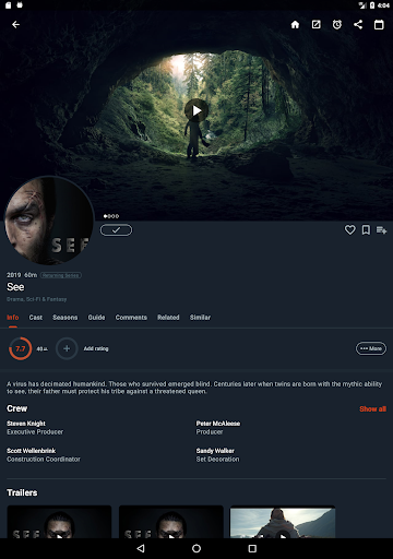 Moviebase: Discover Movies & Track TV Shows screenshot 11