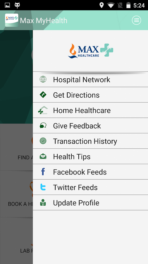 Max MyHealth- screenshot